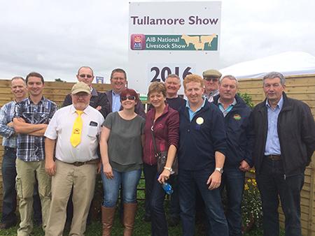 Tullamore Show 2016 Salers breeders