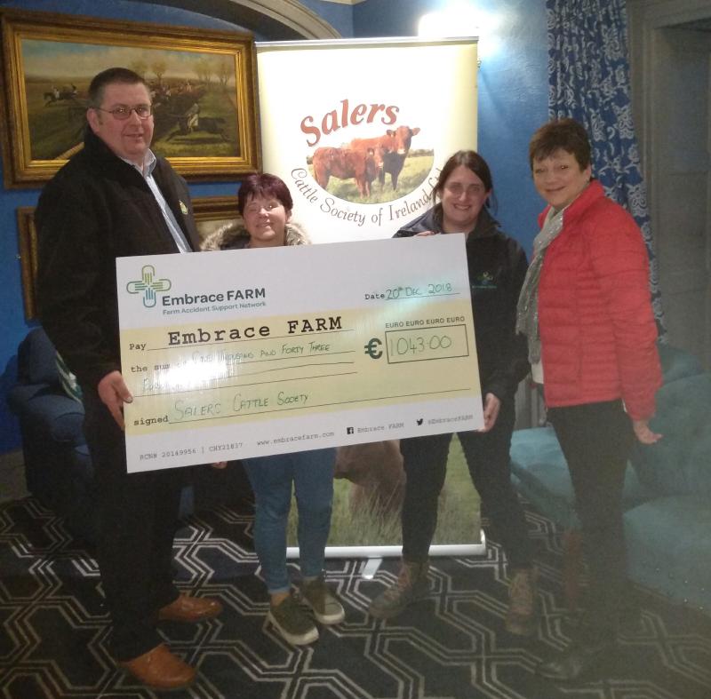 Embrace Farm charity presentation