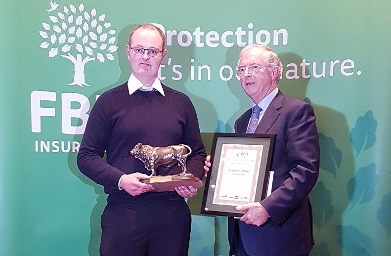 Salers Breeder Wins National Eurostar Award
